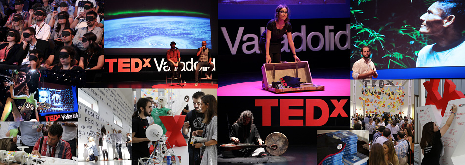TEDx Valladolid 2013 collage